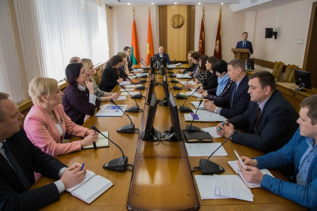 Grodno Regional Executive Committee discussed preparations for the II European Games 2019